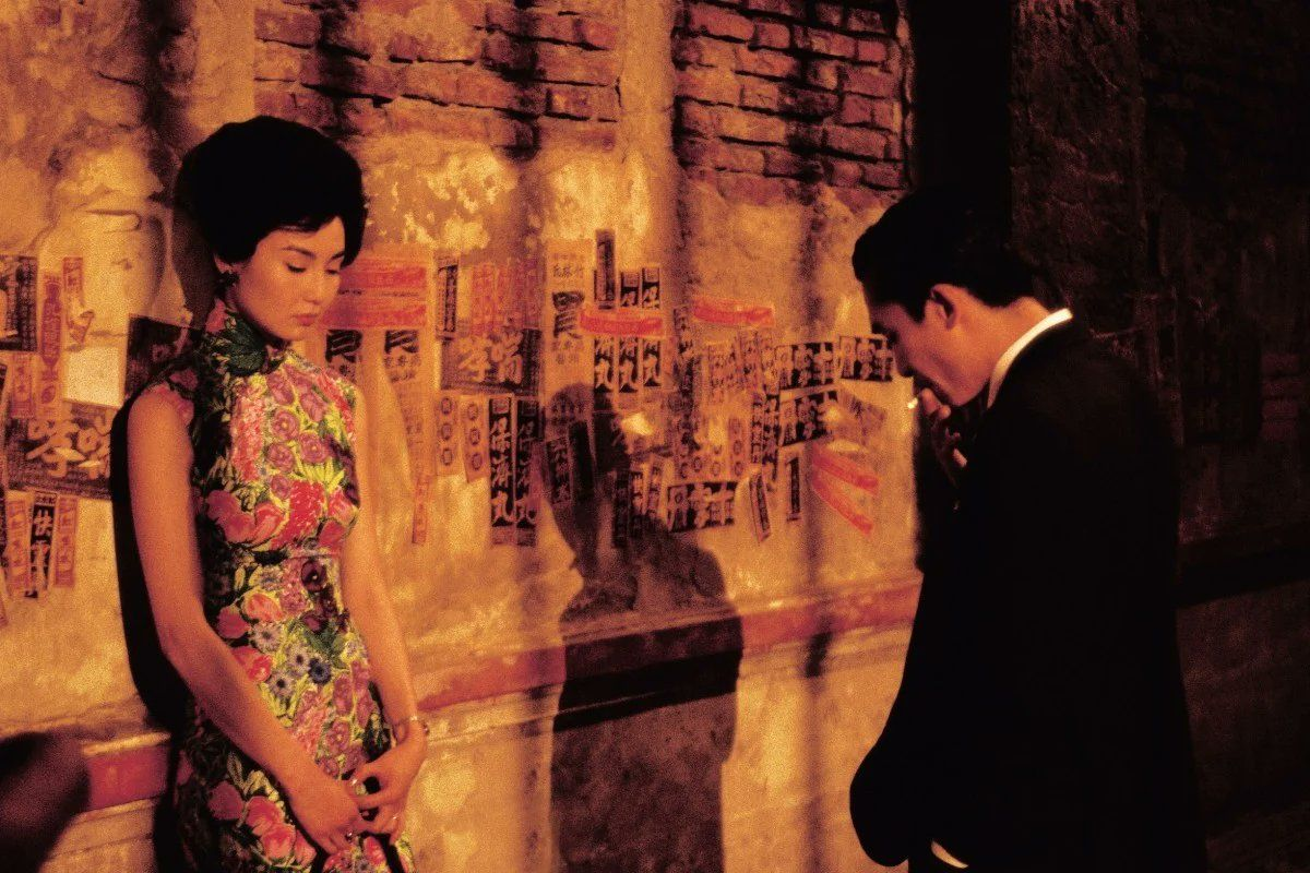 One of the best hotel scenes from Wong Kar Wai's film, In the Mood for Love