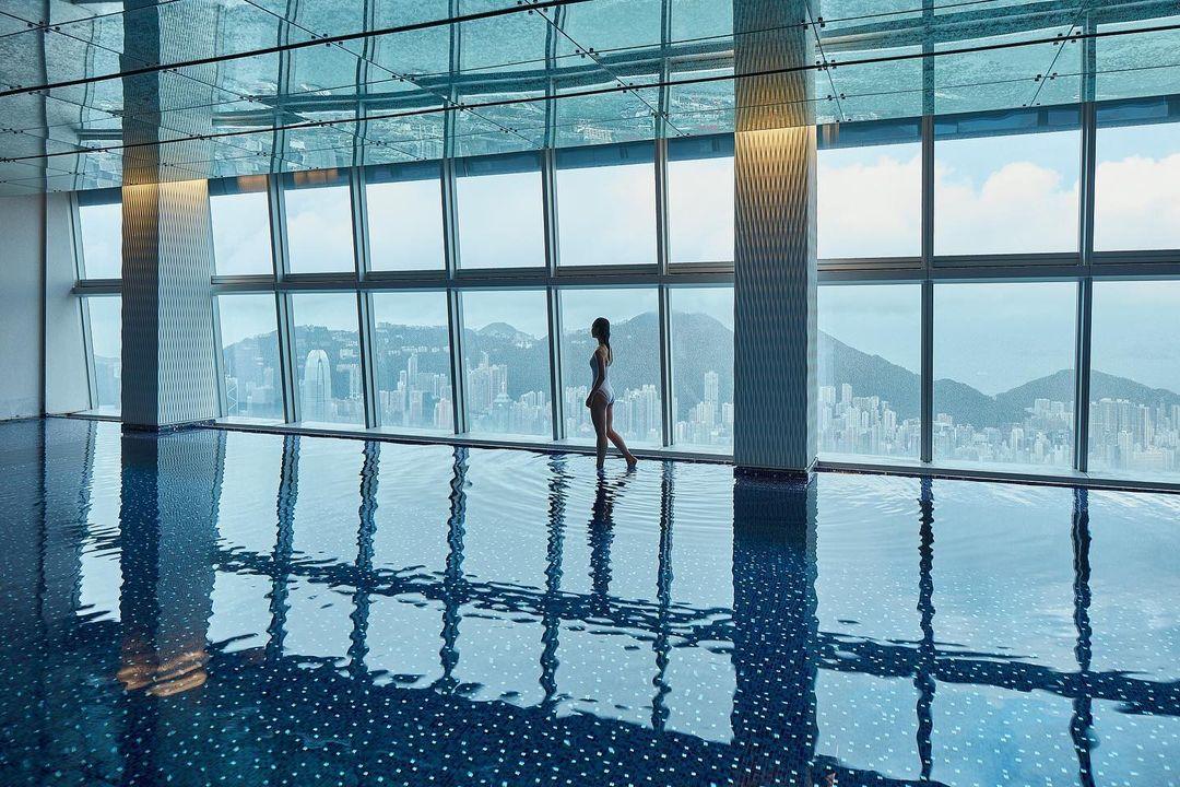 香港麗思卡爾頓酒店 The Ritz-Carlton 酒店泳池