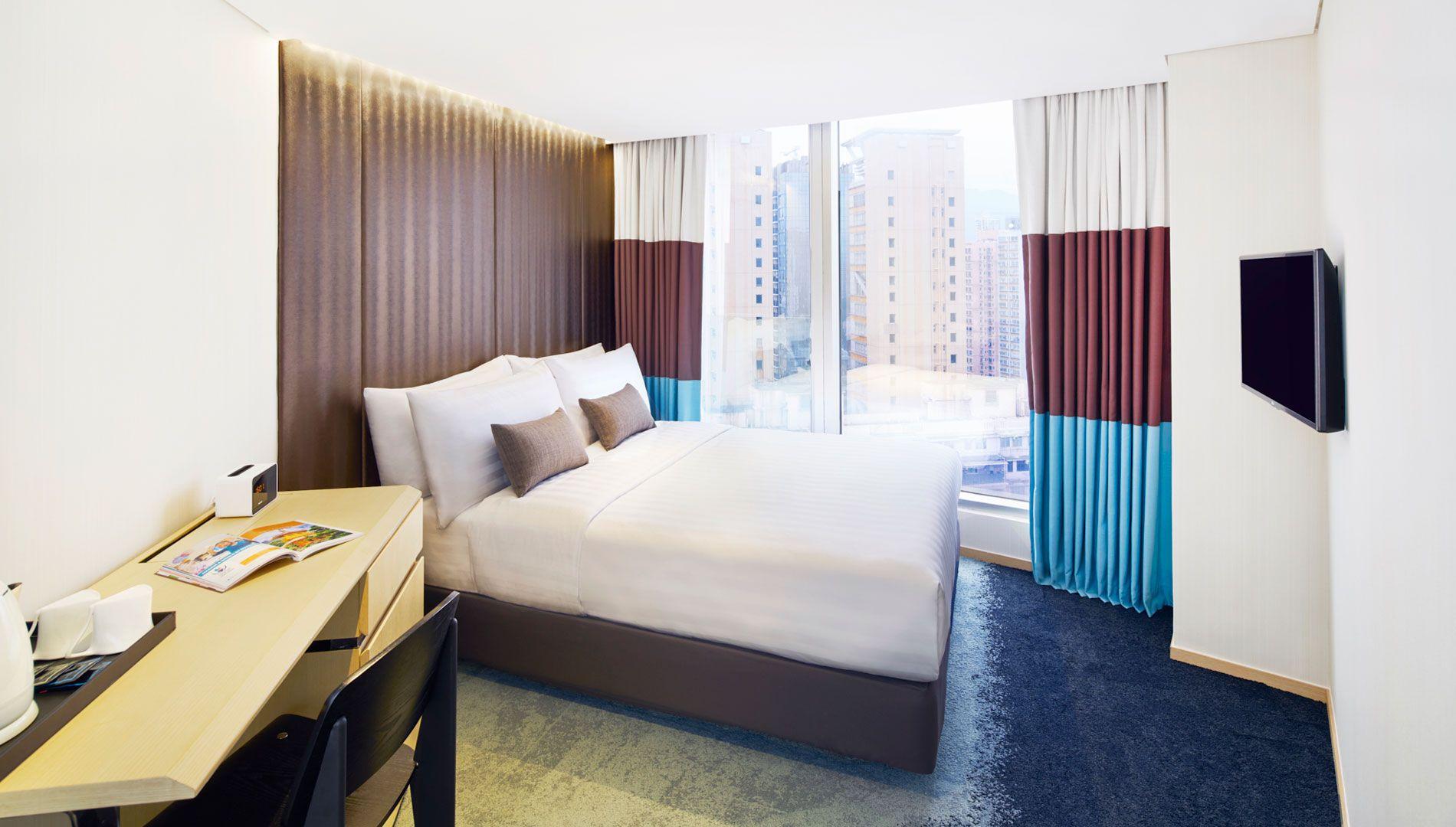Hotel 108 旺角時鐘酒店房間