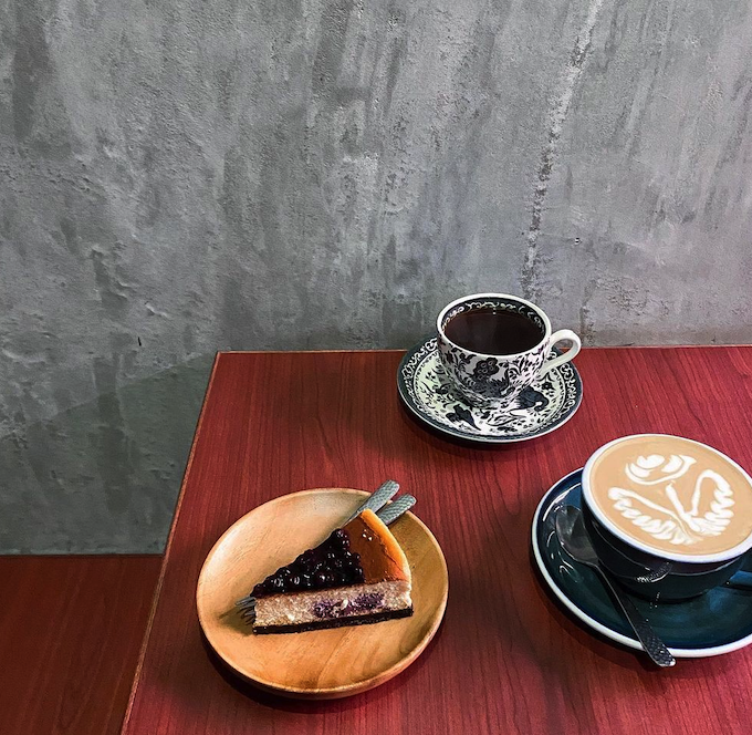 元朗美食cafe accro coffee