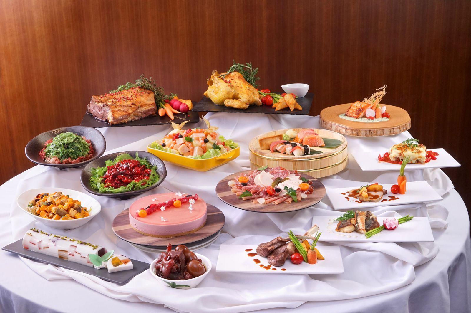 自助午餐優惠灣景國際