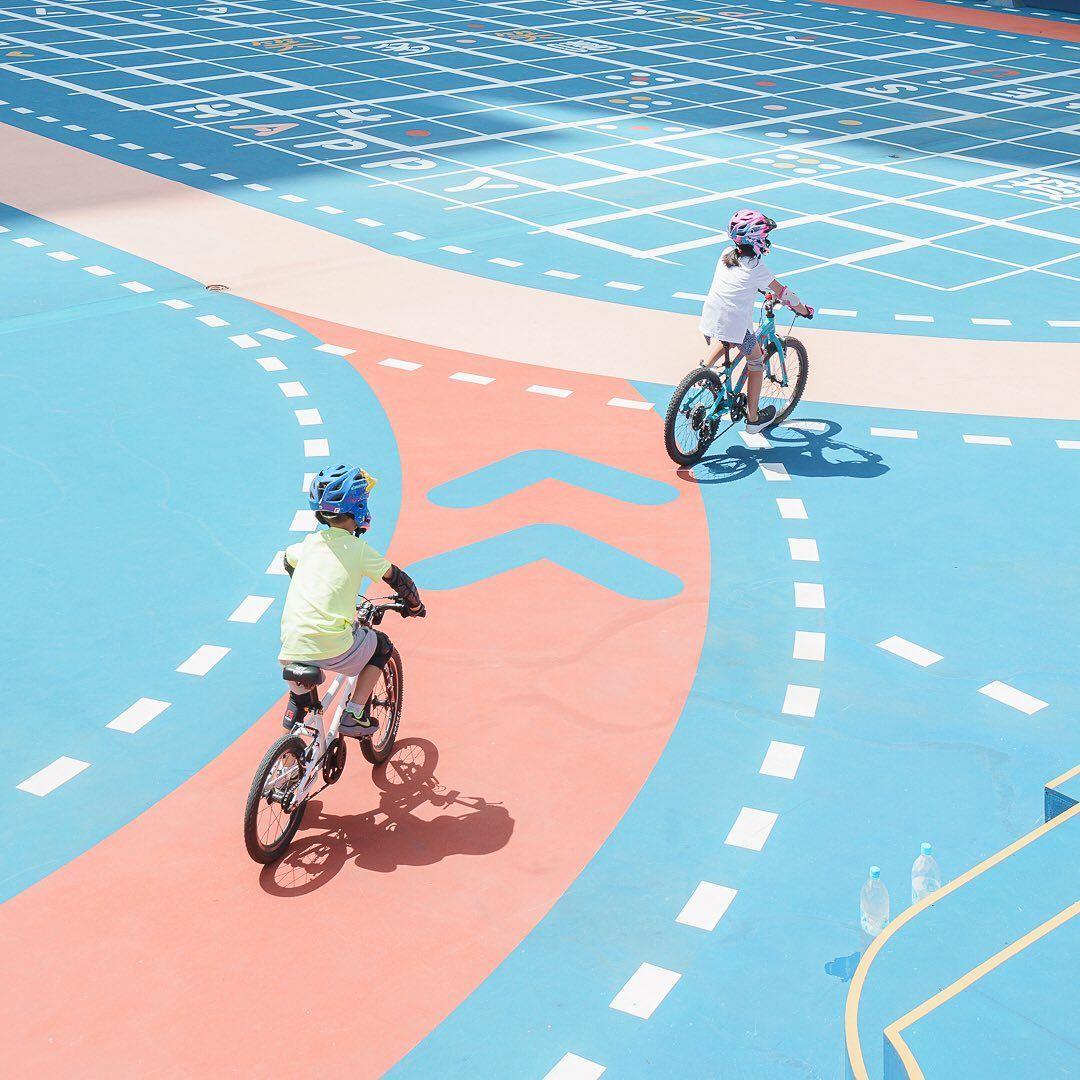 兆禧運動場的平衡車賽道