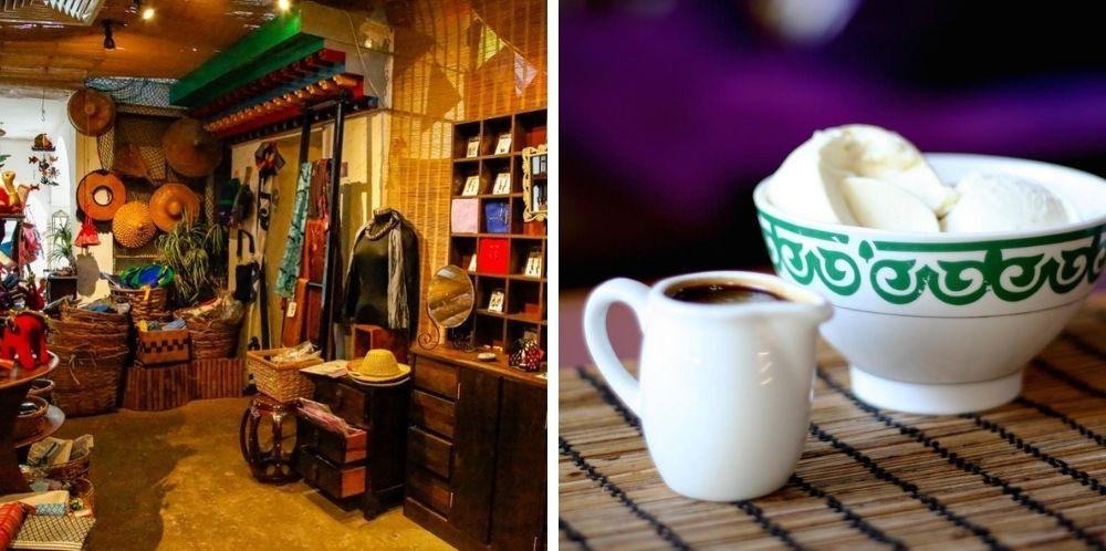 十字路會設有咖啡室和公平貿易小店