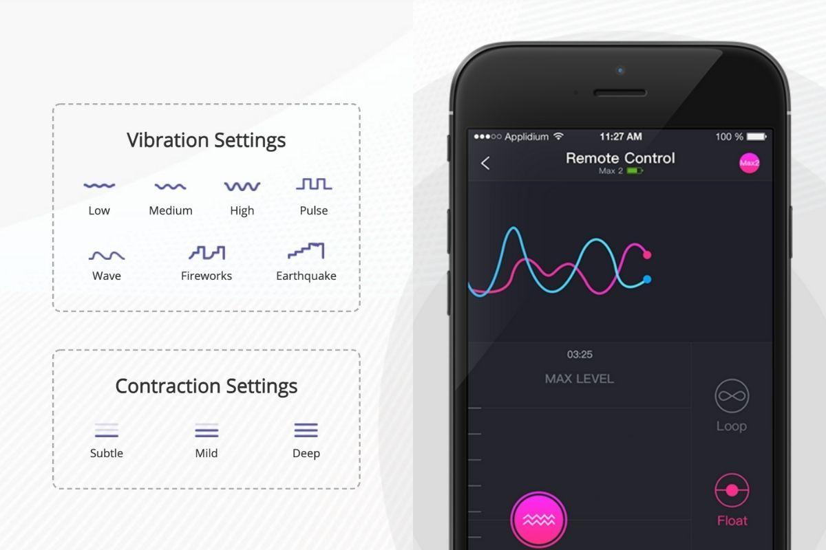 Lovesense Max 2 飛機杯 電話 App