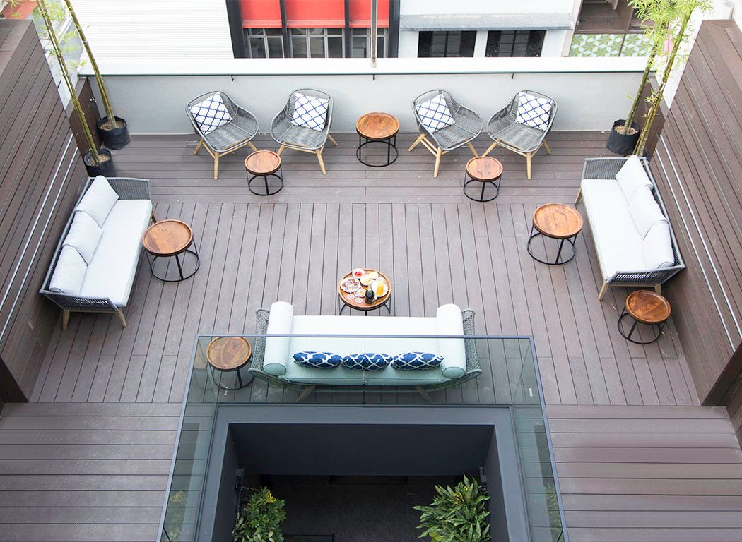 Hotel NuVe Elements rooftop