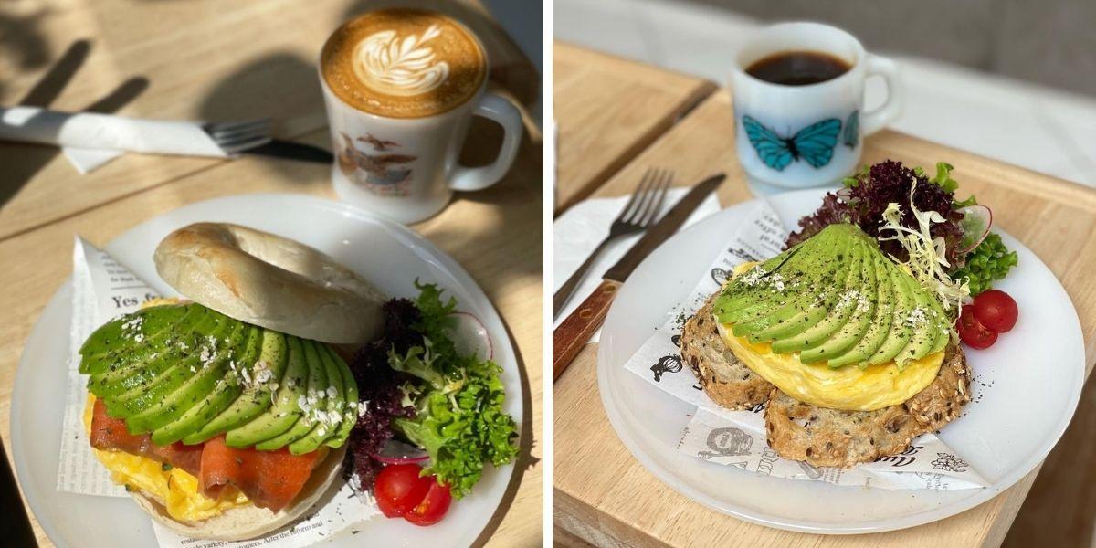 artisan-cafe-central-牛油果bagel-牛油果多士
