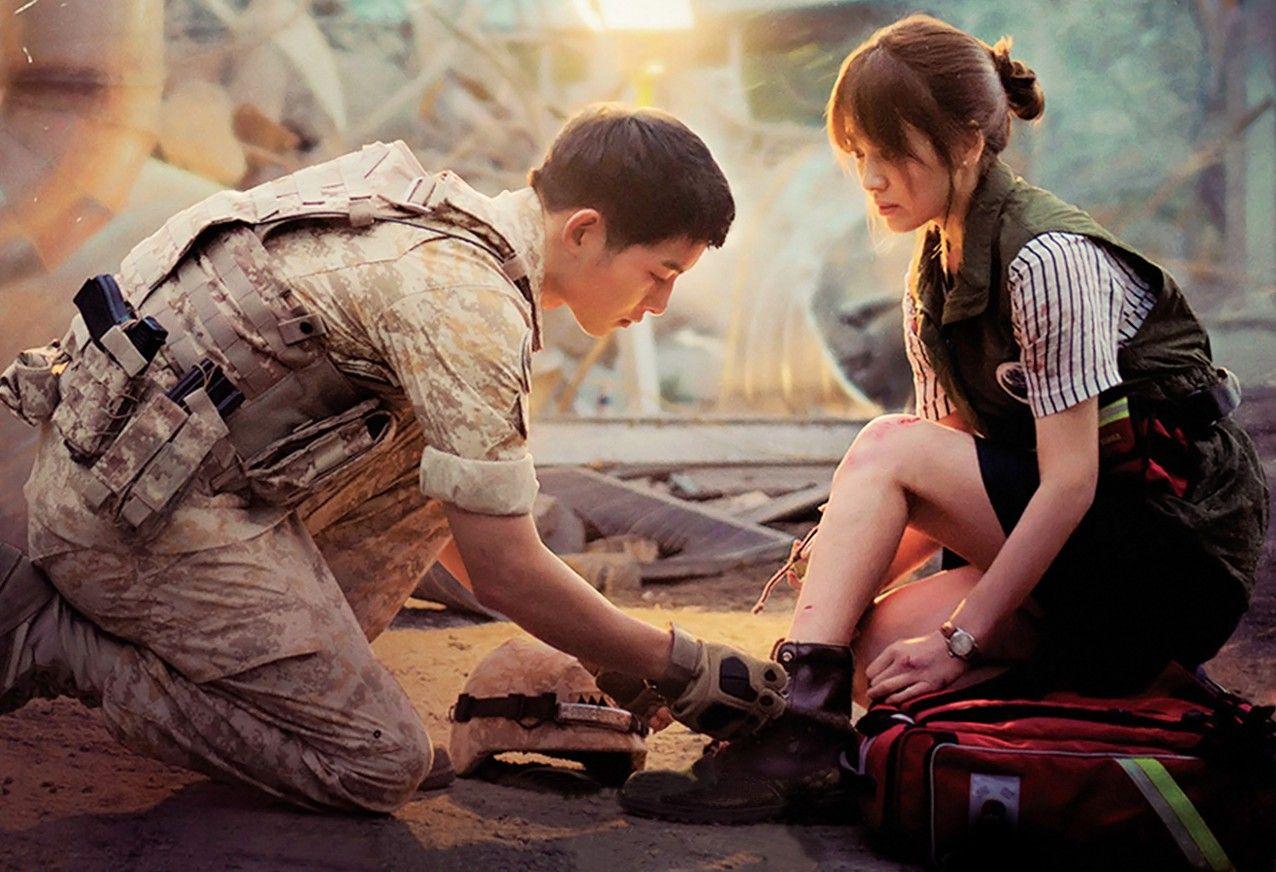 韓劇《太陽的後裔》劇照