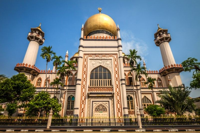 Sultan Mosque (Masjid Sultan) in Arab Street
